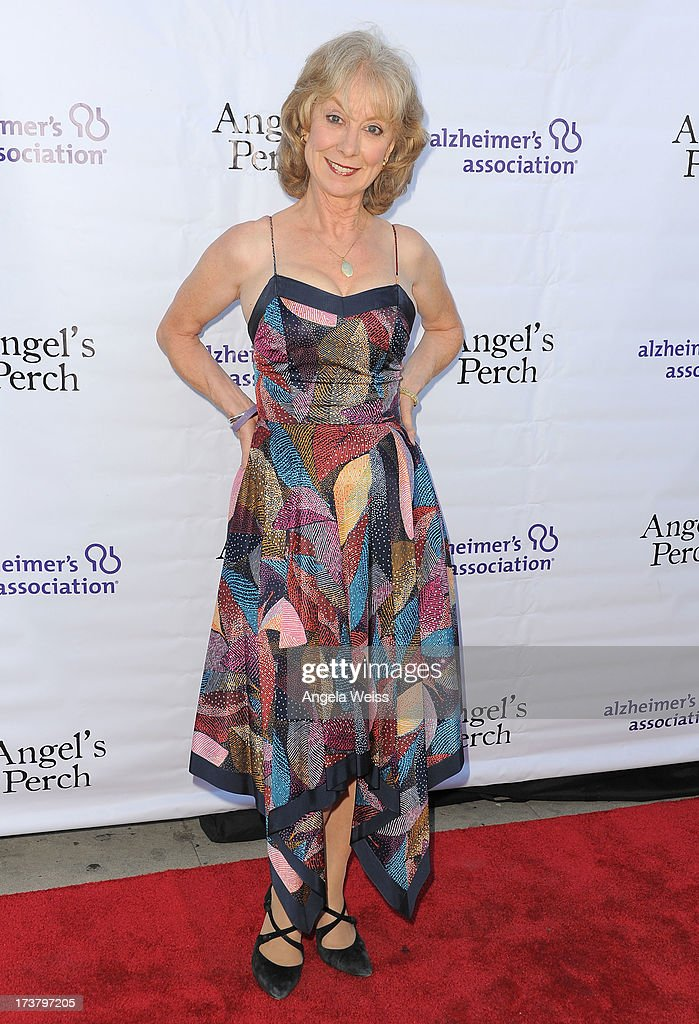 Actress Ellen Crawford arrives at the 'Angel's Perch' West Coast Premiere at Laemmle's Royal Theatre on July 17, 2013 in Los Angeles, California.