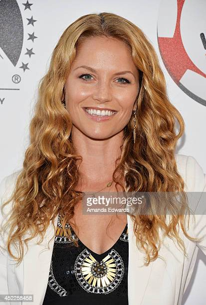 Actress Ellen Hollman arrives at the 4th Annual Variety The Children's Charity of Southern CA Texas Hold 'Em Poker Tournament at Paramount Studios on...