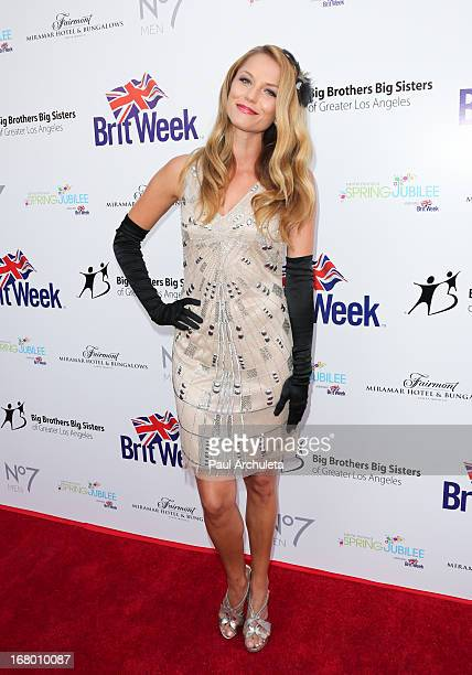 Actress Ellen Hollman attends the Britweek celebration of 'Downton Abbey' at Fairmont Miramar Hotel on May 3 2013 in Santa Monica California
