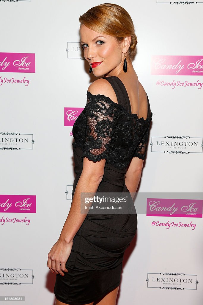 Actress Ellen Hollman attends the Fire & Ice Gala Benefiting Fresh2o at Lexington Social House on March 28, 2013 in Hollywood, California.