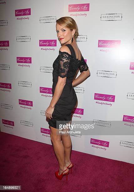 Actress Ellen Hollman attends the Fire Ice Gala Benefiting Fresh2o at the Lexington Social House on March 28 2013 in Hollywood California