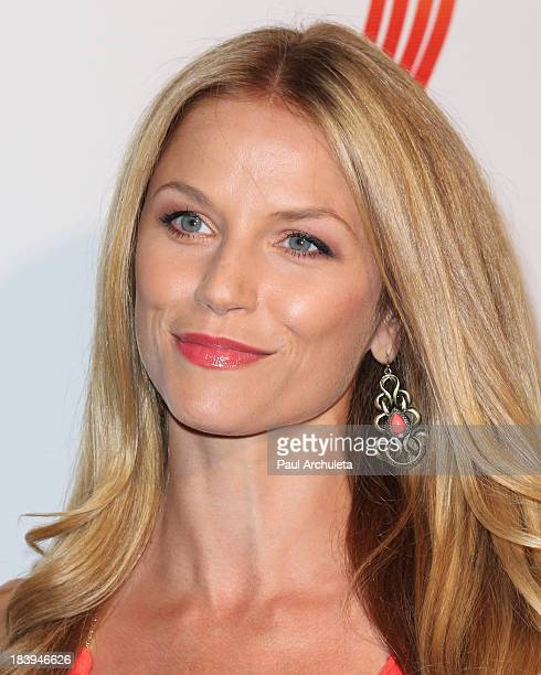 Actress Ellen Hollman attends the Philhellenes Gala at SkyBar at the Mondrian Hotel in Los Angeles on October 9 2013 in West Hollywood California
