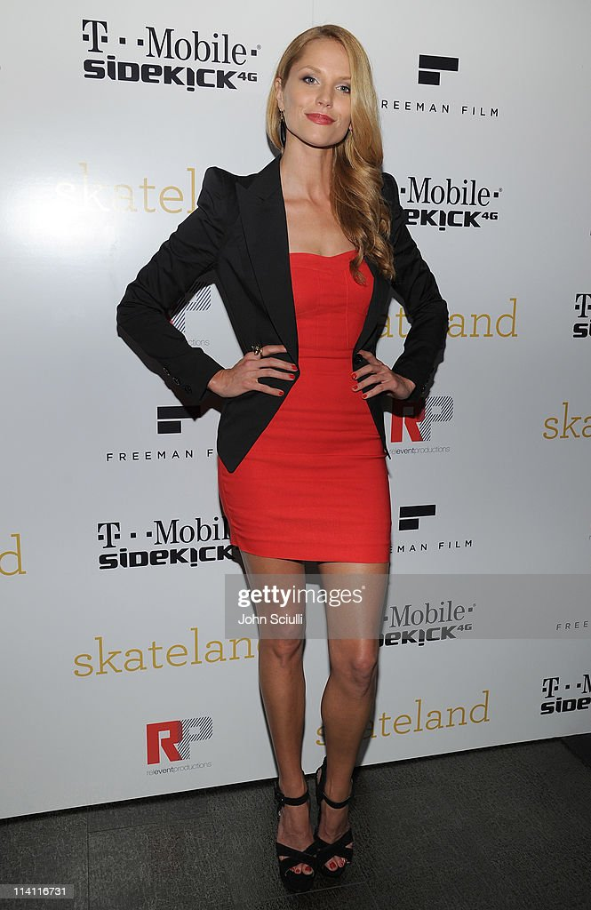 Actress Ellen Hollman attends the 'Skateland' after party on May 11, 2011 in Hollywood, California.
