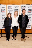 Actress Ellen Page actress and writer Brit Marling and writer and director Zal Batmanglij attend a Film Independent At LACMA special screening of...