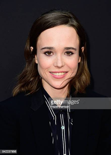 Actress Ellen Page attends A24's 'Into The Forest' premiere at ArcLight Hollywood on June 22 2016 in Hollywood California