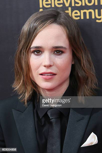 Actress Ellen Page attends the 2016 Creative Arts Emmy Awards Day 2 at the Microsoft Theater on September 11 2016 in Los Angeles California