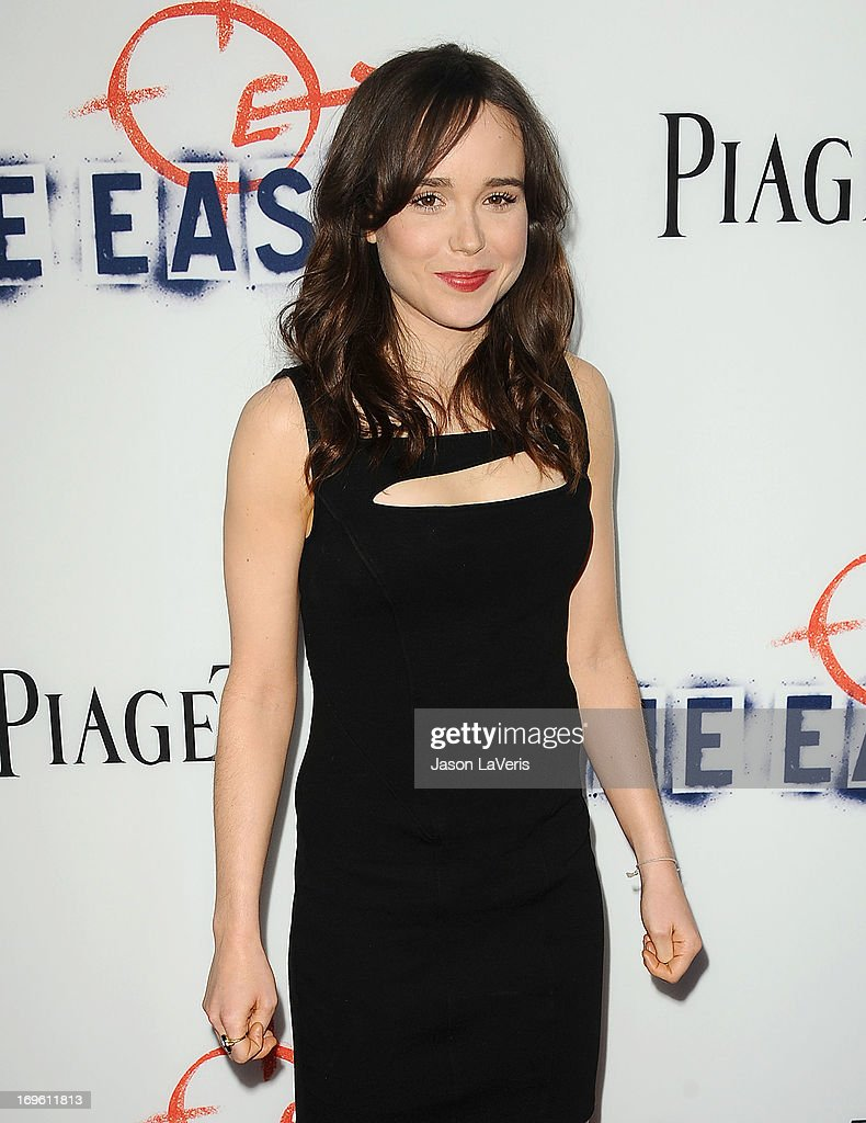 Actress Ellen Page attends the premiere of 'The East' at ArcLight Hollywood on May 28, 2013 in Hollywood, California.