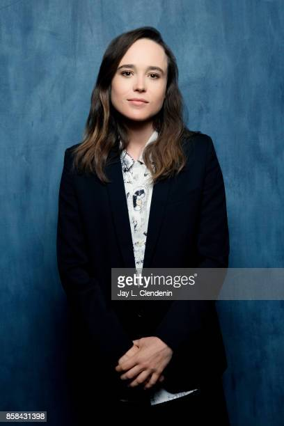 Actress Ellen Page from the film 'The Cured' poses for a portrait at the 2017 Toronto International Film Festival for Los Angeles Times on September...