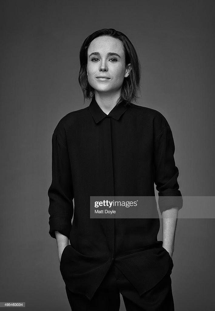 Ellen Page, Back Stage, September 30, 2015