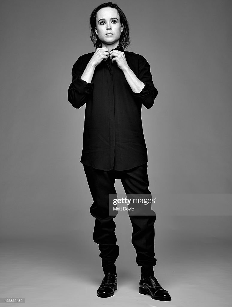 Actress Ellen Page is photographed for Back Stage on August 4, 2015, in New York City.