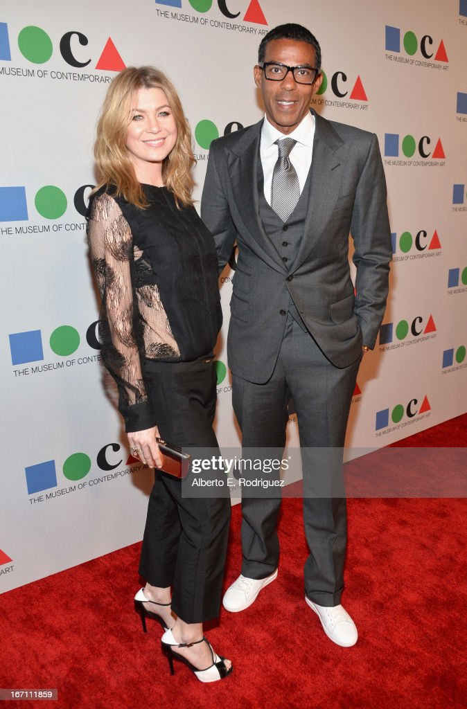 """""""Yesssss!"""" 2013 MOCA Gala, Celebrating The Opening Of The Exhibition Urs Fischer - Red Carpet"""