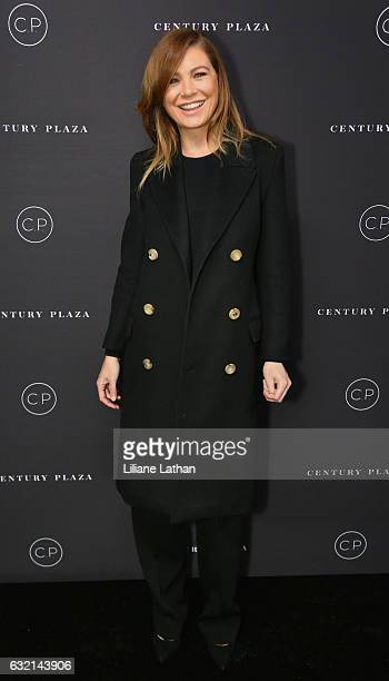 Actress Ellen Pompeo arrives for the unveiling celebration of the new Century Plaza Hotel and residences in Century City on January 19 2017 in Los...