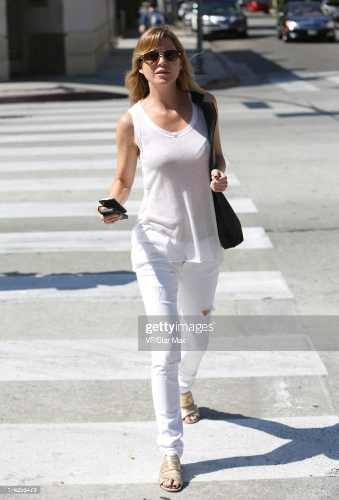 Actress <a gi-track='captionPersonalityLinkClicked' href=/galleries/search?phrase=Ellen+Pompeo&family=editorial&specificpeople=240269 ng-click='$event.stopPropagation()'>Ellen Pompeo</a> as seen on July 22, 2013 in Los Angeles, California.