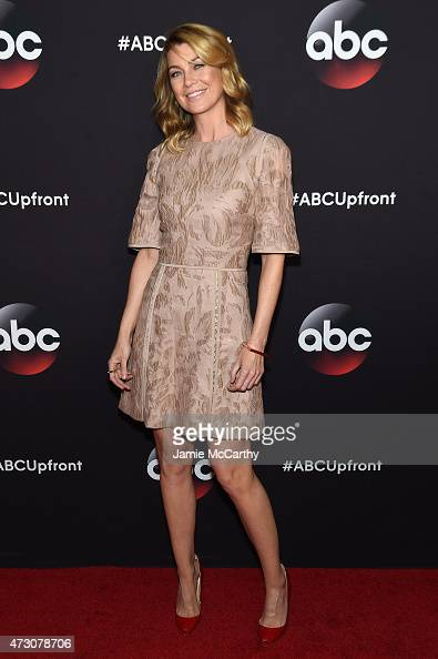 Actress Ellen Pompeo attends the 2015 ABC Upfront at Avery Fisher Hall Lincoln Center on May 12 2015 in New York City