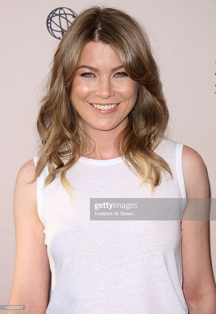 Actress Ellen Pompeo attends The Academy of Television Arts & Sciences Presents 'Welcome To ShondaLand: An Evening With Shonda Rhimes & Friends' at the Leonard H. Goldenson Theatre on April 2, 2012 in North Hollywood, California.
