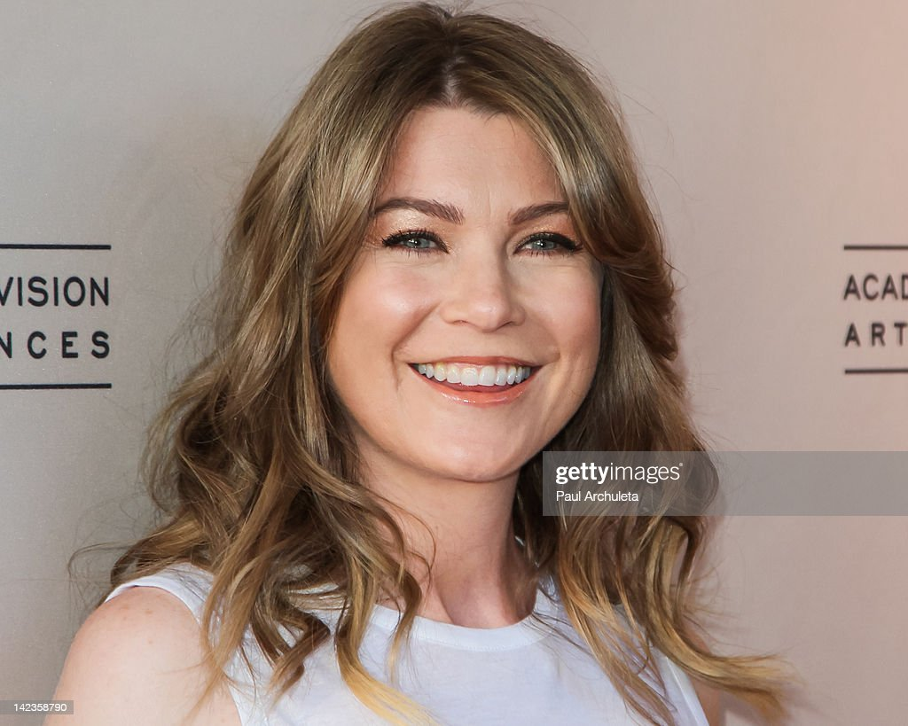 Actress Ellen Pompeo attends the Academy Of Television Arts & Sciences presentation of 'Welcome To ShondaLand: An Evening With Shonda Rhimes & Friends' at the Leonard H. Goldenson Theatre on April 2, 2012 in North Hollywood, California.