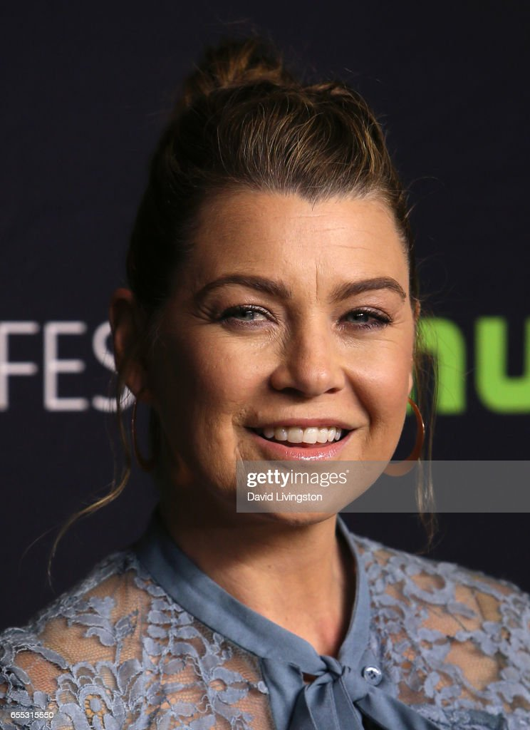 Actress Ellen Pompeo attends The Paley Center for Media's 34th Annual PaleyFest Los Angeles presentation of 'Grey's Anatomy' at Dolby Theatre on March 19, 2017 in Hollywood, California.