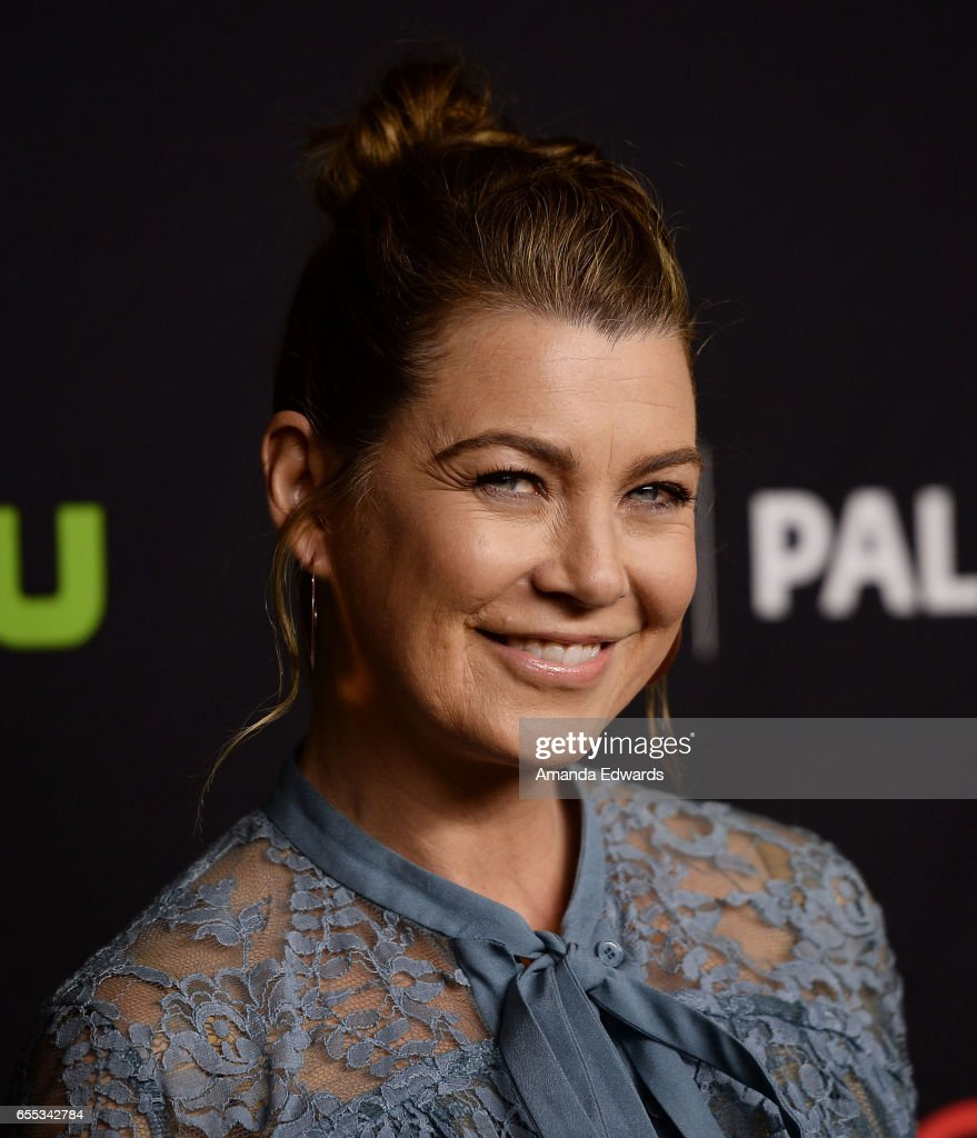 Actress Ellen Pompeo attends The Paley Center For Media's 34th Annual PaleyFest Los Angeles - 'Grey's Anatomy' screening and panel at the Dolby Theatre on March 19, 2017 in Hollywood, California.