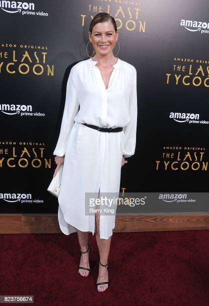 Actress Ellen Pompeo attends the premiere of Amazon Studios' 'The Last Tycoon' at the Harmony Gold Preview House and Theater on July 27 2017 in...