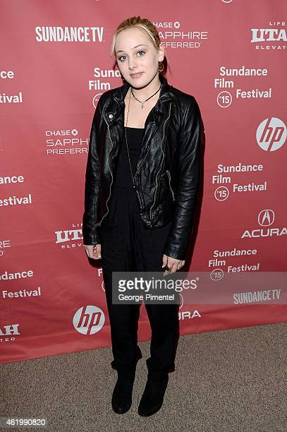 Actress Ellery Sprayberry attends 'The Bronze' Premiere at the Eccles Center Theatre during the 2015 Sundance Film Festival on January 22 2015 in...
