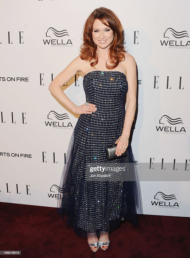 Actress Ellie Kemper arrives at ELLE's 2nd Annual Women In TV Event at Soho House on January 24, 2013 in West Hollywood, California.