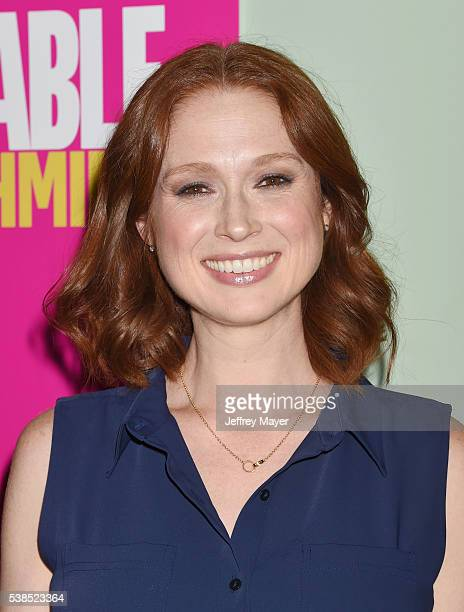 Actress Ellie Kemper attends a For Your Consideration panel for the show 'Unbreakable Kimmy Schmidt' at UCB Sunset Theater on June 6 2016 in Los...