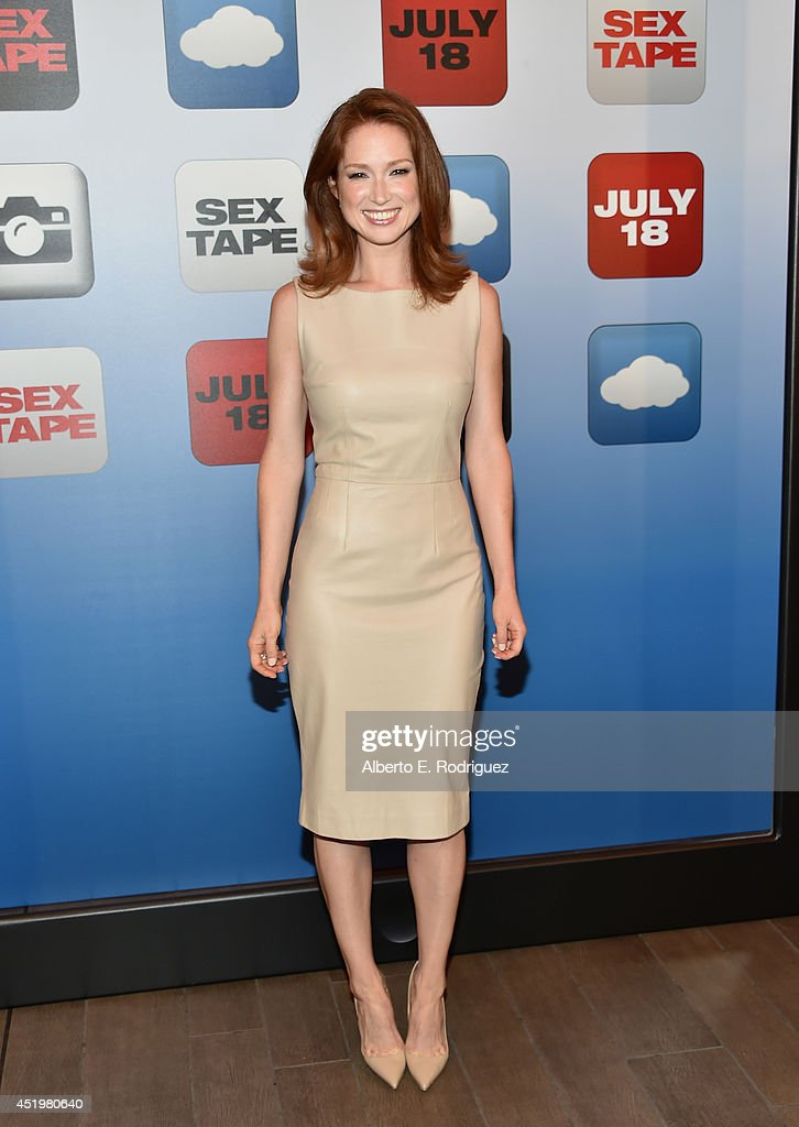 Actress <a gi-track='captionPersonalityLinkClicked' href=/galleries/search?phrase=Ellie+Kemper&family=editorial&specificpeople=6123842 ng-click='$event.stopPropagation()'>Ellie Kemper</a> attends a photocall for Columbia Pictures' 'Sex Tape' at The Four Seasons Hotel Los Angeles at Beverly Hills on July 10, 2014 in Beverly Hills, California.