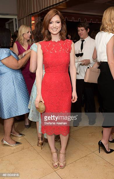Actress Ellie Kemper attends ELLE's Annual Women in Television Celebration on January 13 2015 at Sunset Tower in West Hollywood California Presented...