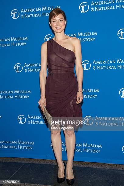 Actress Ellie Kemper attends the 2015 American Museum Of Natural History Museum Gala at American Museum of Natural History on November 19 2015 in New...