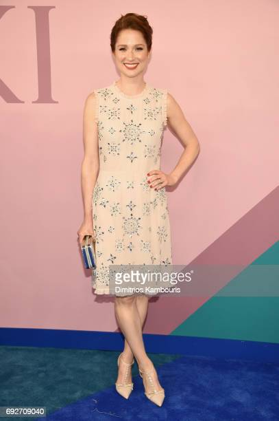 Actress Ellie Kemper attends the 2017 CFDA Fashion Awards at Hammerstein Ballroom on June 5 2017 in New York City