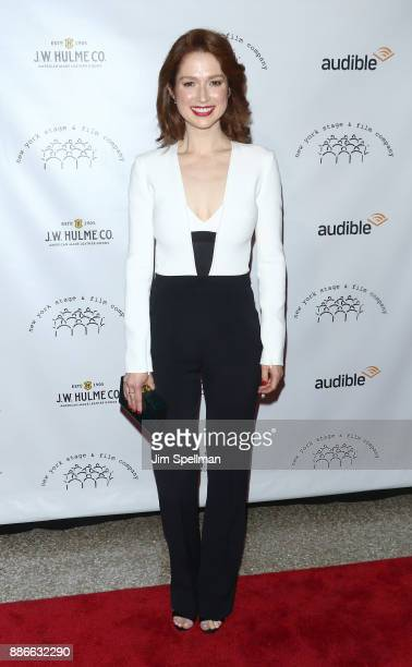 Actress Ellie Kemper attends the 2017 New York Stage and Film Winter Gala at Pier Sixty at Chelsea Piers on December 5 2017 in New York City