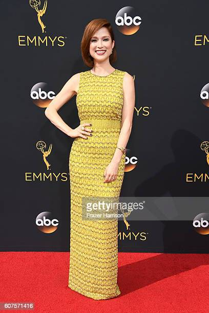 Actress Ellie Kemper attends the 68th Annual Primetime Emmy Awards at Microsoft Theater on September 18 2016 in Los Angeles California