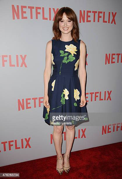Actress Ellie Kemper attends the FYC screening of Netflix's 'Unbreakable Kimmy Schmidt' at Pacific Design Center on June 7 2015 in West Hollywood...