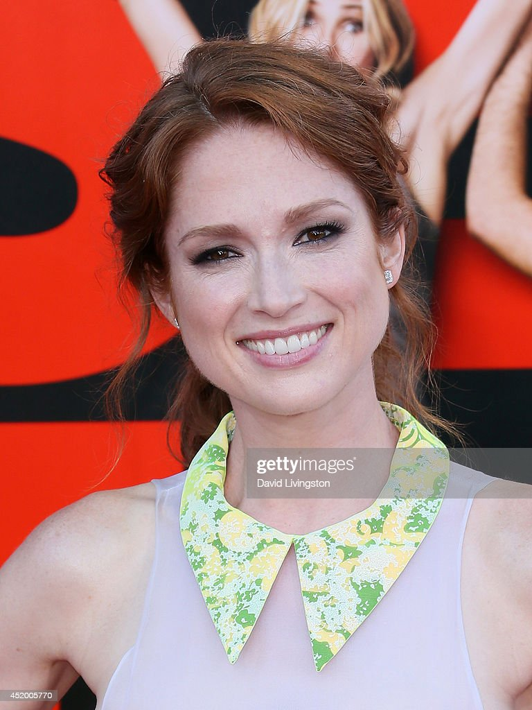 Actress <a gi-track='captionPersonalityLinkClicked' href=/galleries/search?phrase=Ellie+Kemper&family=editorial&specificpeople=6123842 ng-click='$event.stopPropagation()'>Ellie Kemper</a> attends the premiere of Columbia Pictures' 'Sex Tape' at the Regency Village Theatre on July 10, 2014 in Westwood, California.
