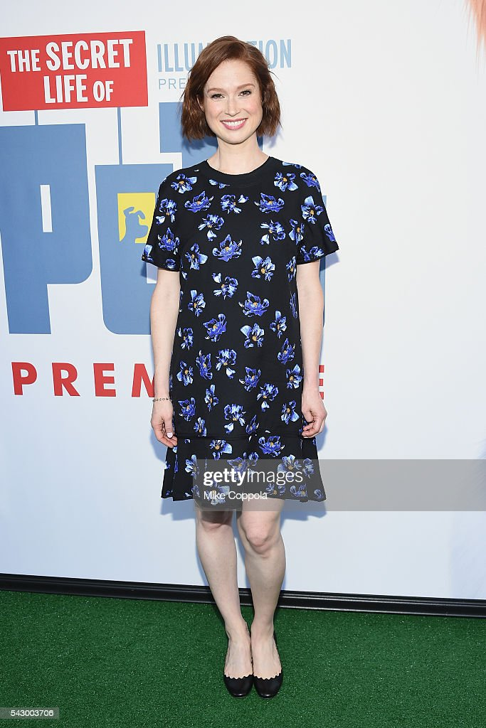 Actress Ellie Kemper attends 'The Secret Life Of Pets' New York Premiere at David H. Koch Theater at Lincoln Center on June 25, 2016 in New York City.