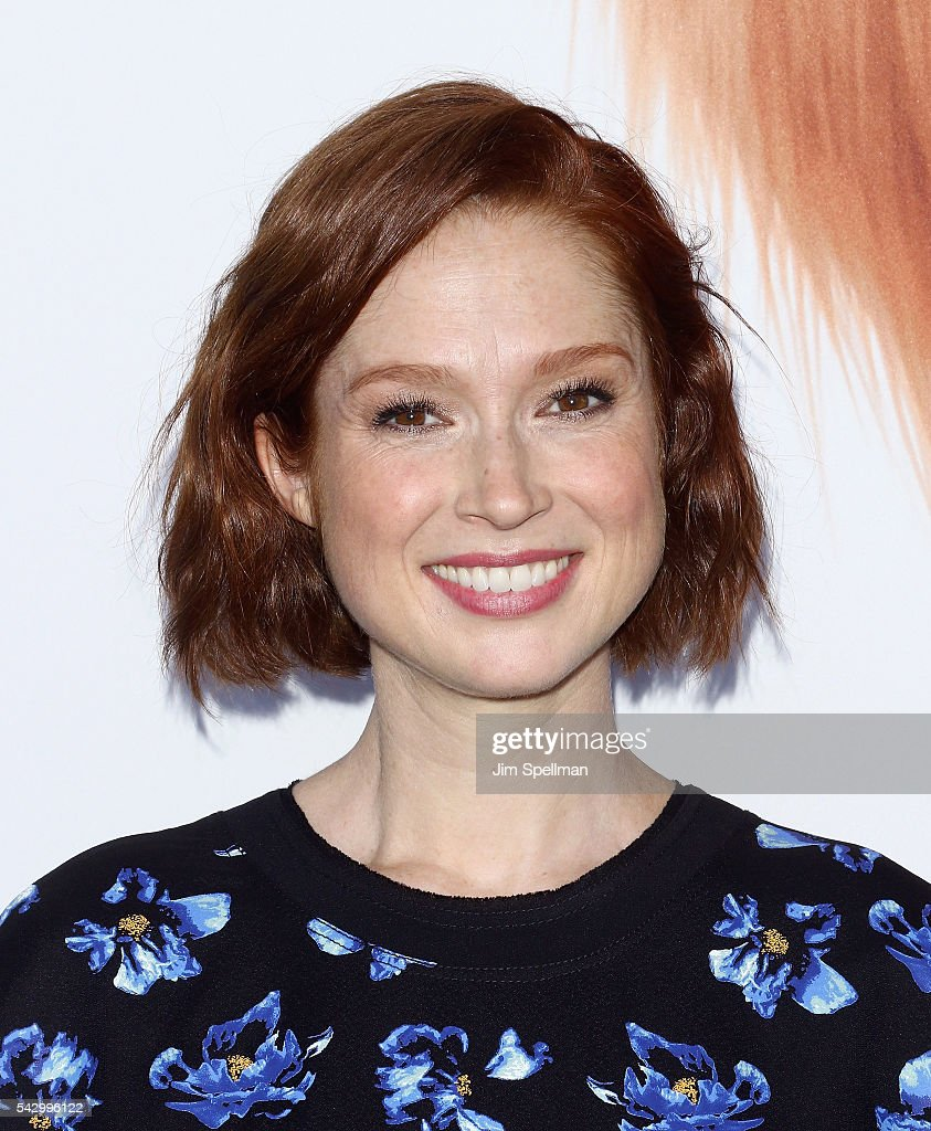 Actress Ellie Kemper attends the 'Secret Life Of Pets' New York premiere on June 25, 2016 in New York City.
