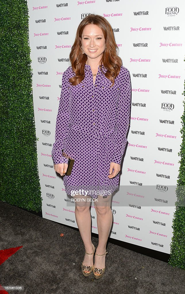 Actress Ellie Kemper attends the Vanity Fair And Juicy Couture Celebration Of The 2013 Vanities Calendar party at Chateau Marmont February 18, 2013 in West Hollywood, California. AFP PHOTO Robyn BECK