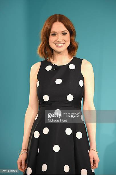 Actress Ellie Kemper attends Tiffany Co In Conversation on April 15 2016 in New York City