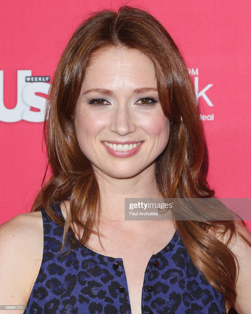Actress Ellie Kemper attends Us Weekly's annual Hot Hollywood Style issue party at The Emerson Theatre on April 18, 2013 in Hollywood, California.