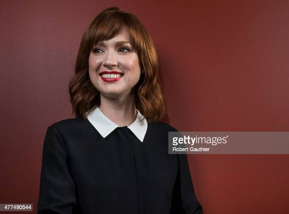 Actress Ellie Kemper is photographed for Los Angeles Times on May 13 2015 in Beverly Hills California PUBLISHED IMAGE CREDIT MUST READ Robert...