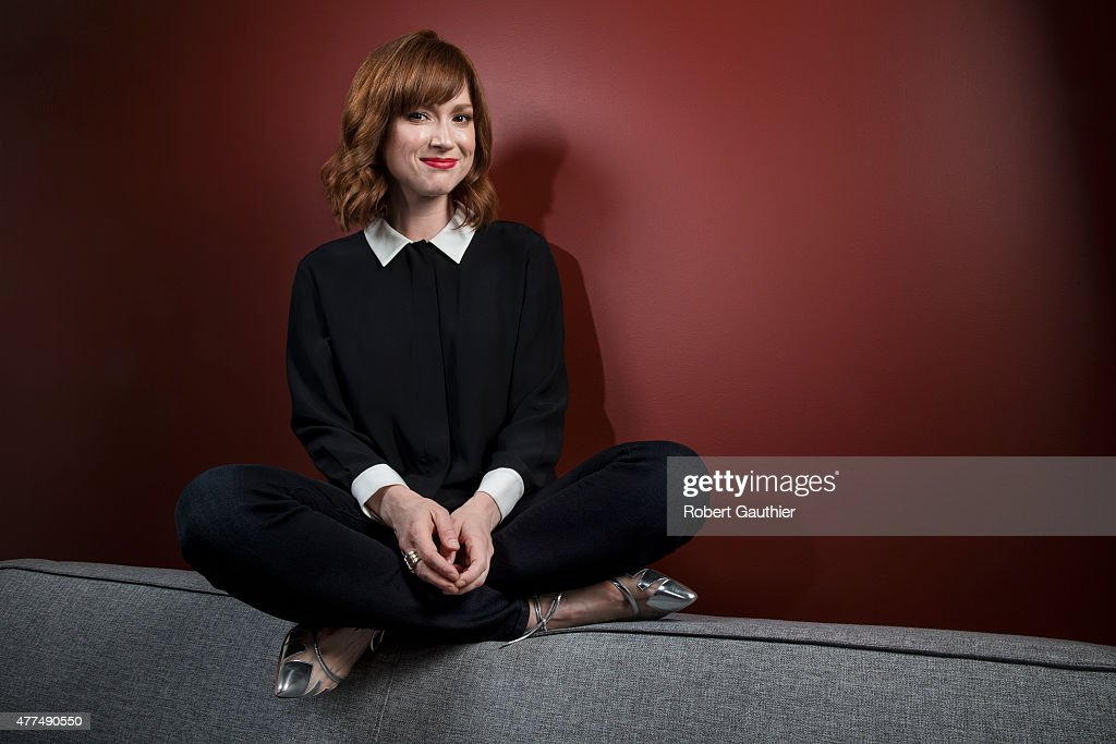 Actress <a gi-track='captionPersonalityLinkClicked' href=/galleries/search?phrase=Ellie+Kemper&family=editorial&specificpeople=6123842 ng-click='$event.stopPropagation()'>Ellie Kemper</a> is photographed for Los Angeles Times on May 13, 2015 in Beverly Hills, California. PUBLISHED IMAGE.