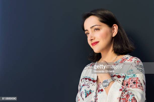 Actress Elmira Rafizadeh is photographed for Self Assignment on May 24 2017 in Cannes France