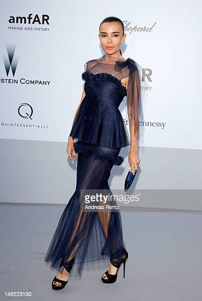 Actress Elodie Bouchez arrives at the 2012 amfAR's Cinema Against AIDS during the 65th Annual Cannes Film Festival at Hotel Du Cap on May 24 2012 in...