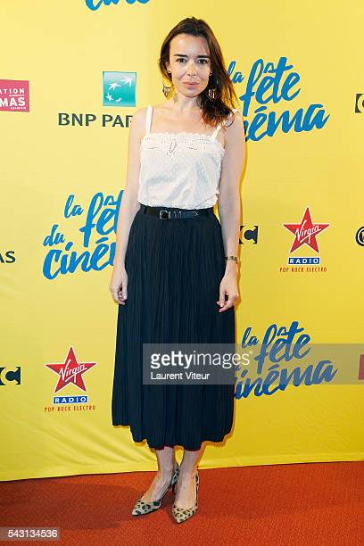 Actress Elodie Bouchez attends the 32nd 'Fete du Cinema' launch at UGC Cine Cite Bercy on June 26 2016 in Paris France