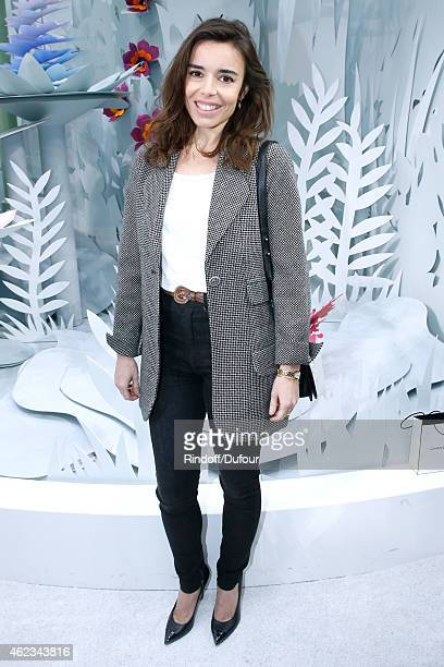 Actress Elodie Bouchez attends the Chanel show as part of Paris Fashion Week Haute Couture Spring/Summer 2015 on January 27 2015 in Paris France