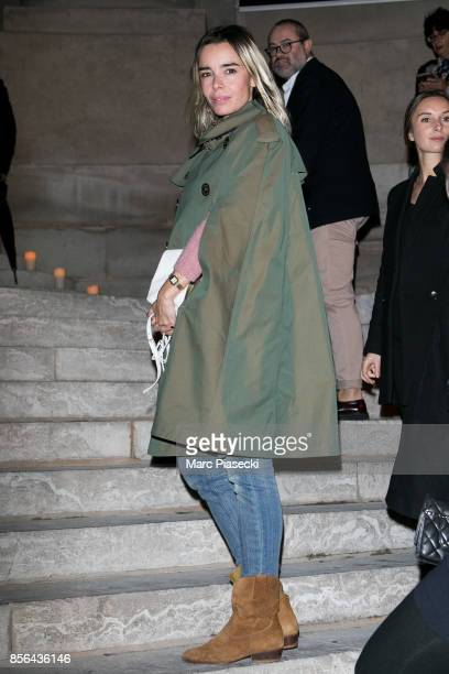 Actress Elodie Bouchez attends Vogue Party as part of the Paris Fashion Week Womenswear Spring/Summer 2018 at on October 1 2017 in Paris France