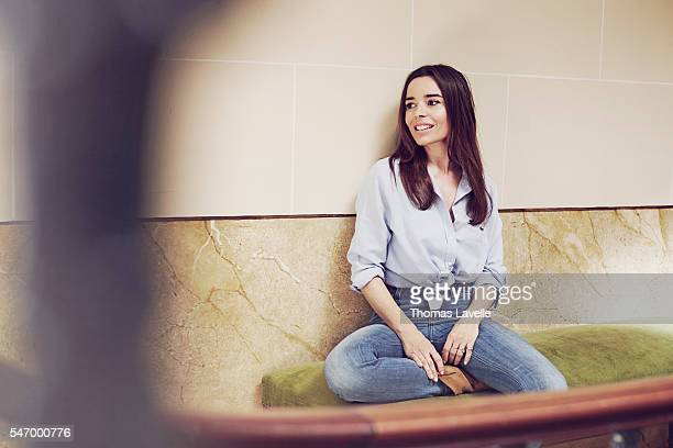 Actress Elodie Bouchez is photographed for Self Assignment on June 22 2016 in Paris France