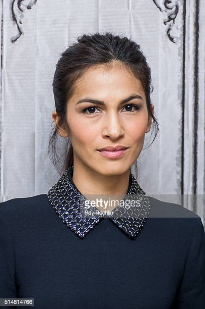 Actress Elodie Yung speaks AOL Build speakers series about the show Marvel's Daredevil at AOL Studios on March 11 2016 in New York City