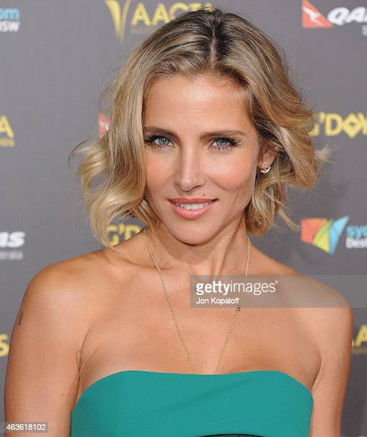 Actress Elsa Pataky arrives at the 2015 G'Day USA Gala Featuring The AACTA International Awards Presented By Quantas at Hollywood Palladium on...