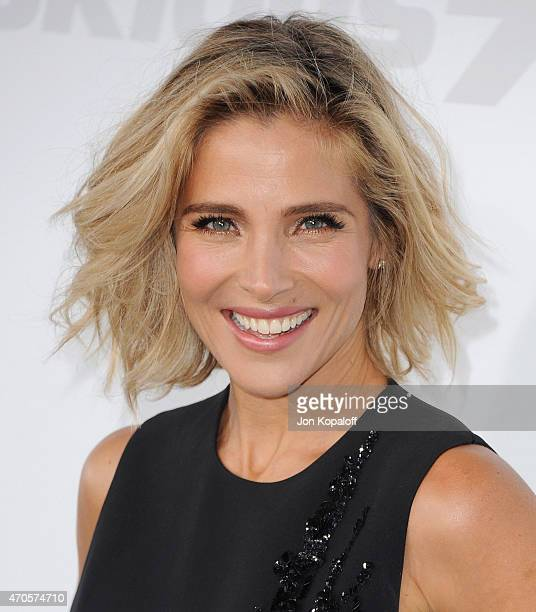 Actress Elsa Pataky arrives at the Los Angeles Premiere 'Furious 7' at TCL Chinese Theatre IMAX on April 1 2015 in Hollywood California